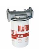"""Фильтр механической очистки 10 мк для биодизеля, ДТ, бензина, масел 60 л/мин 1""""BSP F0777200A"""