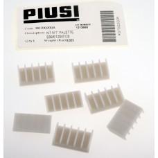 Ремкомплект ротора насоса Piusi Е80/Е120/S120 лопатки