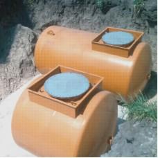 Резервуар 10 м3 двустенный для хранения светлых НП