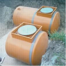 Резервуар 10 м3  одностенный для хранения светлых НП