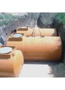 Резервуар 20 м3 двустенный для хранения светлых НП