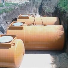 Резервуар 20 м3  одностенный для хранения светлых НП