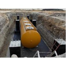 Резервуар 75 м3 двустенный для хранения светлых НП
